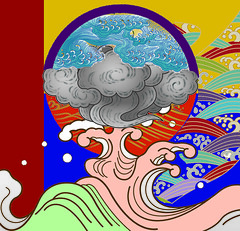 Japanese Dream (Taymaz Valley) Tags: cambridge sun toronto canada paris london art love japan modern vancouver digital sunrise painting tokyo march town persian artist iran quebec montreal surrealism digitalart persia artists iranian cambs digitalism taymazvalley marchtown