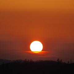 Today's sunset (_kaochan) Tags: sunset sky japan hokkaido sora kushiro eyefi dmcgf1