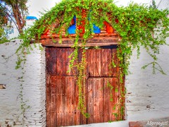Puerta en Macharaviaya (Málaga) (ASpepeguti) Tags: españa andalucía spain olympus andalucia costadelsol andalusia malaga málaga pueblosblancos alandalus axarquía zd1454mm macharaviaya e620 aspepeguti photomatixpro42 satorgettymomentos