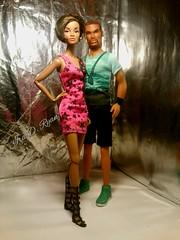 Darla and Tariq (dominiquemakeda) Tags: toys photography dolls ryan d monroe and ira darla tariq integrity krixx