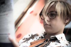 Bu (Lorenzo Pirotto) Tags: ritratto ragazza girl faccia viso portrait fuji foto immagine colori volto face woman donna vintage cool mare sea estate summer