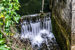 Little waterfall (roksturm) Tags: waterfall river sonydschx1 nature green fallingwater slovenia rizana greenriver