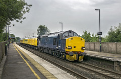 37608 37611 (Geoff Griffiths Doncaster) Tags: test train derby rtc tamworth 37608 europhoenix 67611