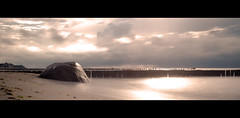 slow sunset - in explore (clearfotografie) Tags: long exposure langzeitbelichtung landschaft landscapes ostsee oldlens nikon natur nature nikkorsc50mmf14 mf mecklenburgvorpommern ndfilter