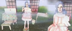 Garden Lolita (kikuriomizu) Tags: sanarae second life blogger blog fashion sl