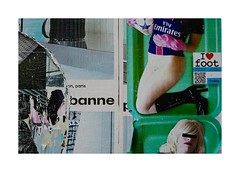 .. (lux fecit) Tags: paris colours surface poster torn wall