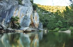 Fuente Azul (mls2012) Tags: lago lake larga exposicin paisaje landscaoe luz light mountain montaa castillaylen burgos covarrubias spain espaa naturaleza aire libre reflejo reflection paraje