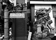 A day in Binondo (28) (momentspause) Tags: ricohgr ricoh blackandwhite bw manila chinatown philippines sign