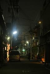 nagoya15635 (tanayan) Tags: night view urban town road street alley aichi nagoya japan nikon j1