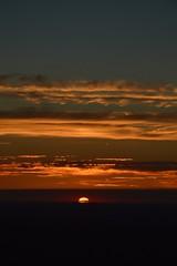 DSC_1761 (justinecharrel) Tags: sunset coucher de soleil auvergne france puydedome volcan montagne nature landscape paysage colors orange red blue sky clouds sun parapente parasailing nikon nikond3200 out