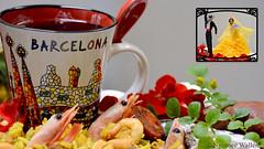 Having fun with Spanish weekend. (nyomee wallen) Tags: spanish havingfunwithspanishweekend weekend barcelona spain spanishdance manandwoman boyansgirl flamencodanceisanexpressivedance thescooponspanishbombaanditalianarborio paellaliesintherice paellarice spanishsausage