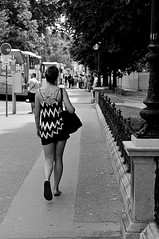Zig zag (Franco & Lia (I'm back)) Tags: street fotografiadistrada photographiederue vienna wien austria sterreich zigzag biancoenero noiretblanc blackandwhite stphotographia