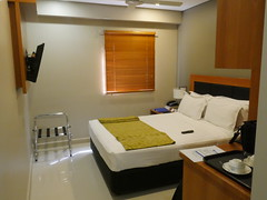 My room at Ela beach hotel.