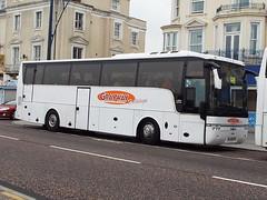 YJ58FHV (47604) Tags: vanhool yj58fhv grayway bus coach wigan gt great yarmouth