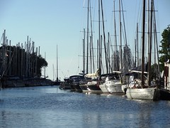 sea reflection (Lovely Pom) Tags: sea water ocean lake harbor boats sail reflection harbour