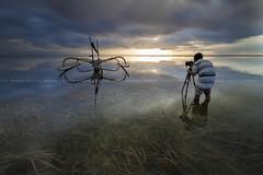 Sunrise Catcher (Pandu Adnyana Photography Tour) Tags: pantai karang cloud sunrise hut motion long exposure baliphotographytour baliphotographyguide balitravelphotography balilandscapephotography balilandscapetour bali indonesia sanur