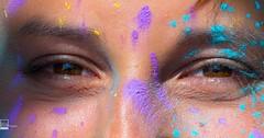 Tolles #shooting mit #holifarben gehabt. Es macht richtig Soass damit zu arbeiten   #holi #holishooting #holifarbrausch #trashthedress #gesicht #face #augen #eyes #geheimnisvoll #mysteriously #freude #pleasure #augenbrauen #eyebrows #frau #woman #n (PolaROITH Fotografie) Tags: nikon love freude mysteriously geheimnisvoll eyebrowns augenbrauen portrait shooting eyes augen holicolors holifarben frau woman instagramapp