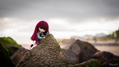 «The sea breeze that never changes delivers mail from a country far away... ..Feel Like So» (MintyP.) Tags: pullip merl doll poupée elwyna custo obitsu groove wig sea mintyp minty photography sony nex 6