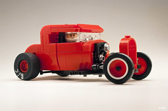 Drag Rod (_Tiler) Tags: lego car vehicle hotrod dragrod dragrace