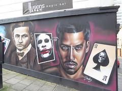 Illusions Magic Bar graffiti mural, Bristol (duncan) Tags: bristol graffiti streetart