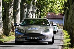 Aston Martin DB7 Vantage (Guillaume Carr) Tags: aston martin db7 vantage rallye pre fils 2016