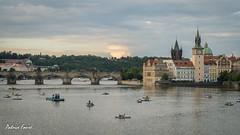 Charles Bridge (Patrice Faur) Tags: prague vltava charlesbridge pontcharles karlvmost ceska praha city europe ville capitale fleuve sony sonya57 50mmdtf18sony