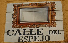 Azulejo calle del Espejo. Madrid (Carlos Vias-Valle) Tags: azulejo calledelespejo