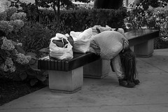 Hopeless (Bert CR) Tags: city street homeless homelessplight penurious destitute tough survival panhandling bw blackandwhite blackwhite monochrome desparate hopeless skancheli