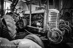 Old tractor, the Nivre (serial_snapper) Tags: france blackwhite roadvehicle rpubliquefranaise nivredpartement bourgognefranchecomtrgion ciez bourgognefranchecomt fr