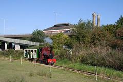 IMG_3283 (Hampton & Kempton Waterworks Railway.) Tags: darent devon arrives loop