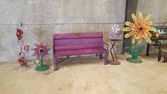 Repurposed Furniture Garden Bench (Raymond Guest) Tags: bench furniture gardenbench recycledart gardenideas garden gardening gardenfurniture outdoorgarden raymondguest recycledsalvagedesign
