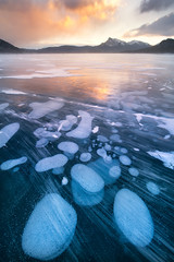 A snowy lake (VictorLiu Photography) Tags: bubbles ice wind snow storm canada