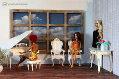 baroque (photos4dreams) Tags: thebaroquechairsp4d coral liv bobbyjean ooak barbie mattel photos4dreams doll oneofakind handmade handpainted p4d photos4dreamz toy puppe faceup makeup dollmakeupartist aa barbies dolls klavier flgel piano grand white weis barock weisgold