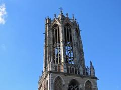 The top of the Dom tower, Utrecht (Elisa1880) Tags: dom church utrecht domkerk domtoren tower