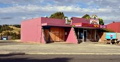 Yallourn North shops (phunnyfotos) Tags: pink urban cafe nikon australia victoria shops vic milkbar gippsland latrobevalley yallournnorth d5100 nikond5100 phunnyfotos
