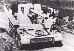 Versuchsflakwagen fr 8,8 cm FlaK 37 L/56  Grille 10  (Krueger Waffen) Tags: war tank wwii armor ww2 armour armored waffenss aaa tanks panzer secondworldwar afv antiairc