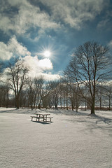 K7_13661 (Bob West) Tags: winter ontario clouds day rondeauprovincialpark southwestontario bobwest pentax1650f28 pwwinter pwpartlycloudy
