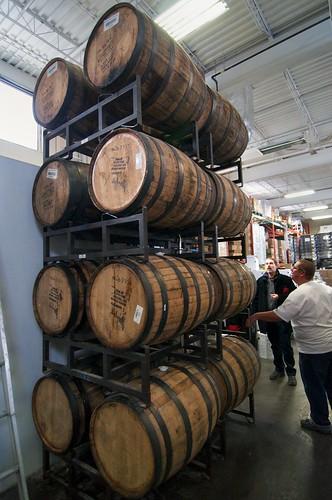 Awe inspiring bourbon barrels