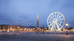 Concorde (haiwepa) Tags: morning paris france wheel grande big concorde matin roue obelisque