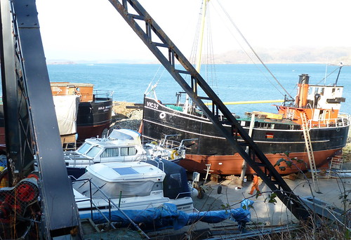 Crinan boatyard