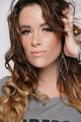 296732_385451358190396_393074774_n (rebekahamarine) Tags: fashion shirt model marine gray curls ombre rebekah amputee