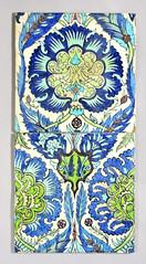 William De Morgan Persian tiles (robmcrorie) Tags: tile de persian inch nine 9 william morgan fulham 1898 1888 demorgan williamdemorgan
