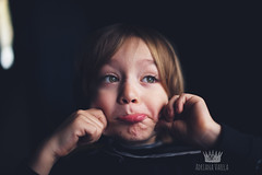 Being goofy (Adriana Gomez (Adriana Varela)) Tags: boy silly goofy childhood child faces expressions