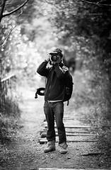 Concentrating 2 (Lucas Shu) Tags: mountain nature beauty japan canon japanese photographer bokeh mark iii railway jr 5d kansai f28 hyogo 135mm 70200mm focusing takedao