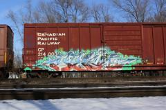 Servo (The Braindead) Tags: art car minnesota train bench photography graffiti box painted tracks minneapolis rail explore beyond cp servo the