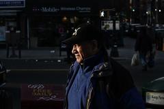Staring at the light... (LandoCol) Tags: newyorkcity blue newyork walk greenlight puma tmobile inwood goldenlight freedaily carecenter magneticart keepnewyorkclean