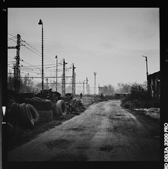 on the way home - Ilford version (toli_x100) Tags: blackandwhite bw slr 6x6 film analog zeiss mediumformat blackwhite czech availablelight 120film hasselblad negative mf analogue 3200 bohemia ilford planar 500cm carlzeiss hasselblad500cm ilforddelta carlzeissjena beroun ilforddelta3200pro planar80mm autaut hasselblad500 ilford3200deltapro alwaysexc epsonv600 peregrino27blackwhite
