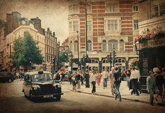 Londra, Covent Garden, angolo Upper St. Martin's Lane - Shelton Street (Valerio_D) Tags: uk england london texture coventgarden 1001nights londra regnounito inghilterra 2007estate 1001nightsmagiccity