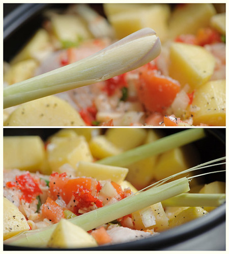 Thai Chicken & Potato Stew (slow cooked)
