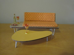 IMG_5252 (Mad for Mod) Tags: modern miniatures mod 60s retro sofa tables 50s midcenturymodern midcentury